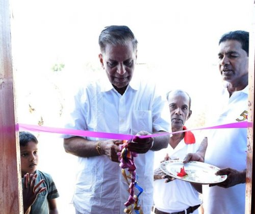 Opening ceremony of a house built by Vision of Love