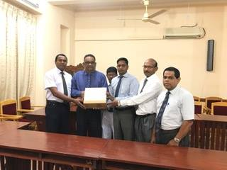 Donation of Ophthalmic Surgical Instruments to Jaffna Hospital