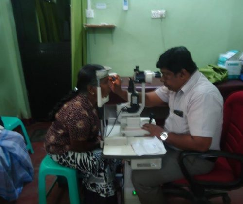 Prescreening for Cataract Surgery at Batticaloa Teaching Hospital
