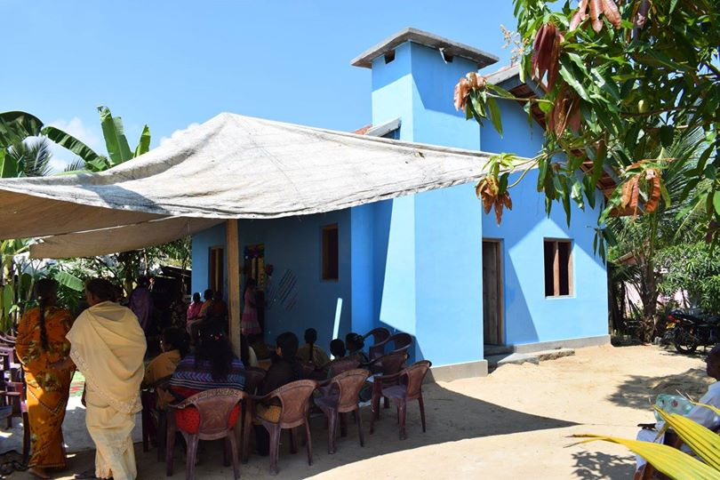Opening ceremony of 2nd house built for a very deserving family