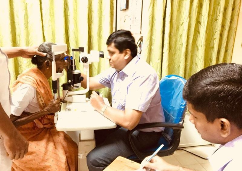Free eye screening camp at District General Hospital, Trincomalee