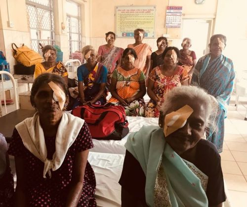 Vision of Love Cataract Operations in Trincomalee